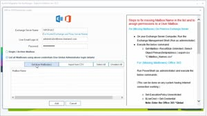 Migrate mailboxes without Outlook with Kernel Migrator for Exchange - Express Edition